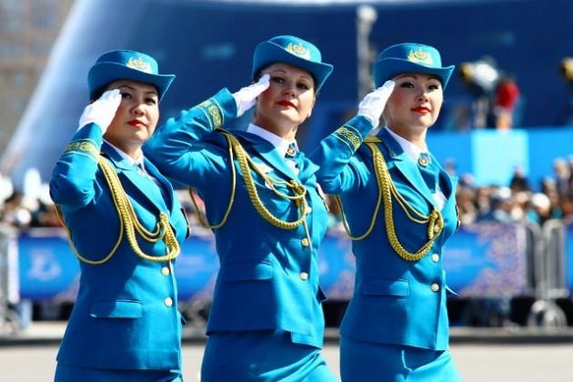 Свыше 180 женщин примут участие в параде в Астане