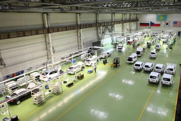 Заполгода вКазахстане собрано свыше 14тысяч автомобилей