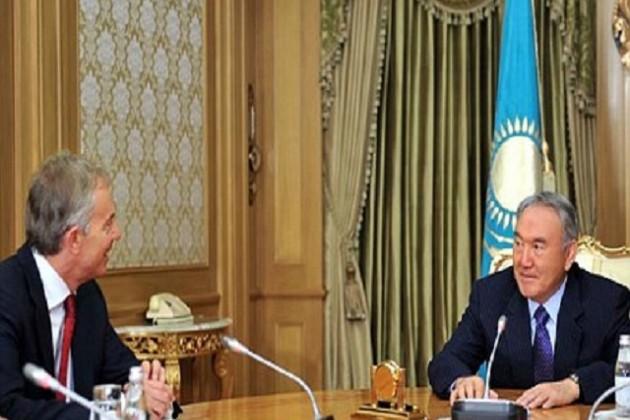 Cтратегию Казахстан-2050 обсудили Назарбаев и Блэр