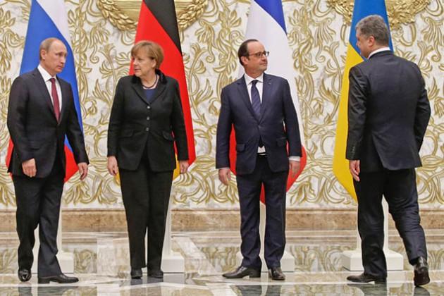 Лидеры нормандской четверки провели переговоры