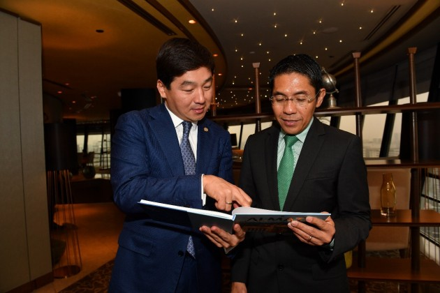 Бизнесмены Сингапура готовы принять участие впроекте Smart Almaty
