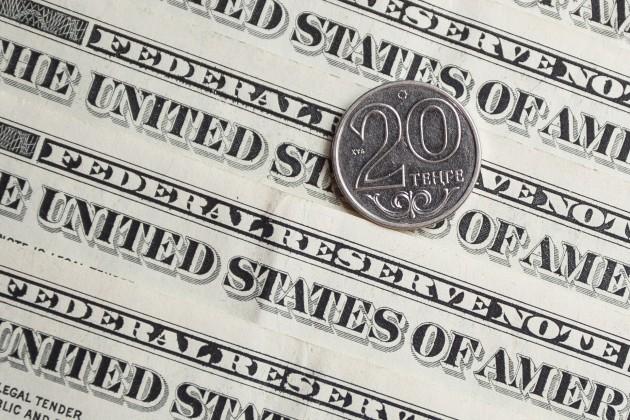 Дневные торги: 378,9 тенге за доллар