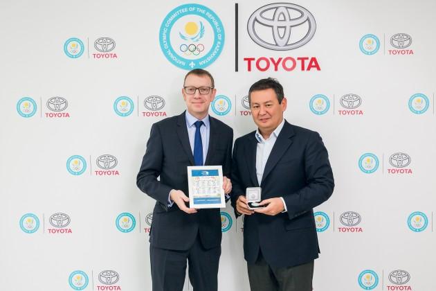 Toyota иНациональный Олимпийский Комитет стали партнерами