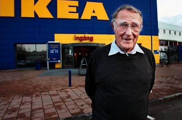 ВШвеции умер создатель компании IKEA