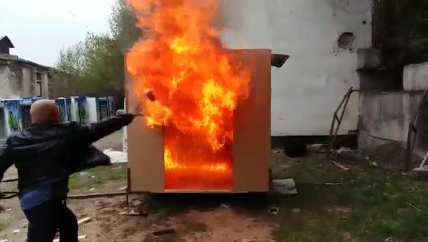 Европейские иарабские бизнесмены заинтересовались выпуском казахстанских огнетушителей