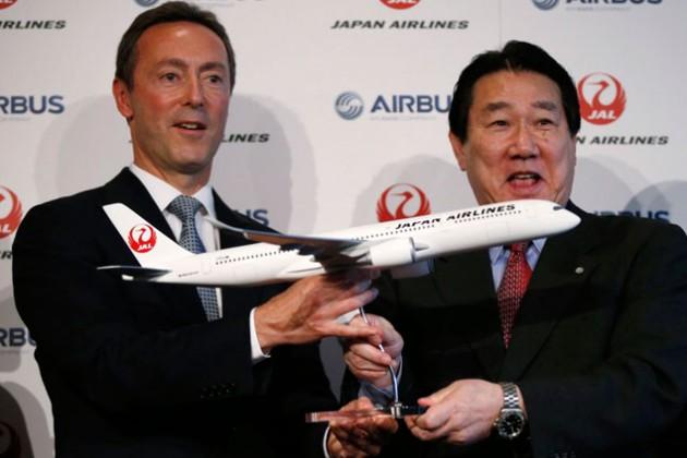 Airbus удвоит долю на рынке Японии