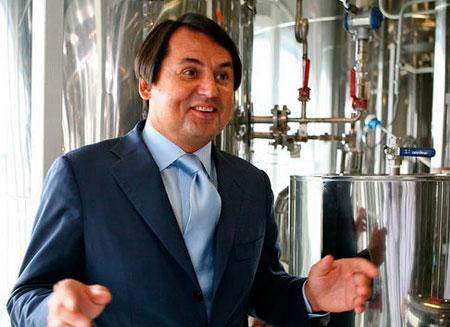 Вторым в мире производителем водки стала российская компания