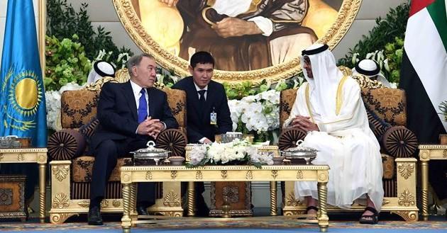 Между Казахстаном иОАЭ подписано восемь документов