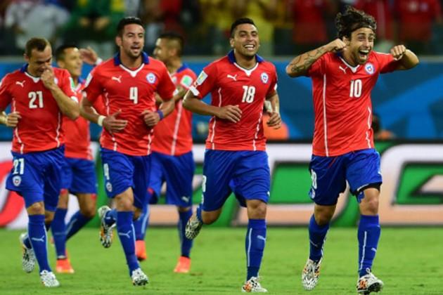 Сборная Чили уверенно обыграла команду Австралии