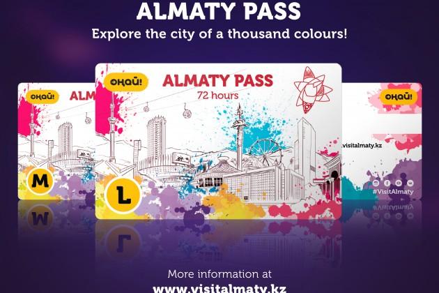Создана карта путешественника Almaty Pass