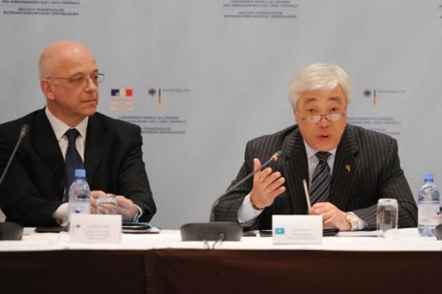РК расширит сотрудничество с Германией и Францией