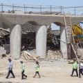 Компания «Базис» спустя сутки прокомментировала обрушение моста