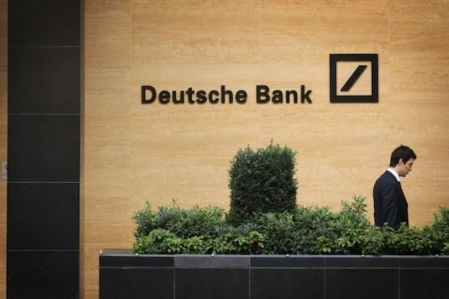 Deutsche Bank: доллар иевро реагируют наполитику
