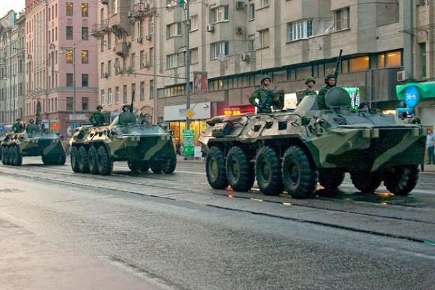 Под Луганском завязался танковый бой