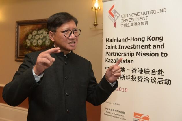 Гонконг хочет увеличить товарооборот сРК в10раз
