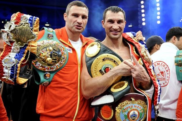 Братьям Кличко предлагали $100 млн за бой друг с другом