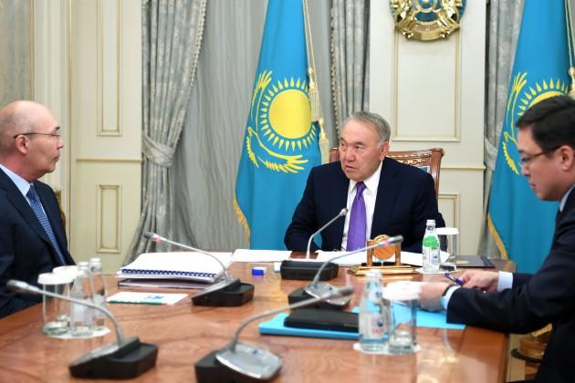 Нурсултан Назарбаев: МФЦА – один из наших крупнейших и важных проектов