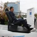 Сауат Мынбаев протестировал тренажер-конвинсер