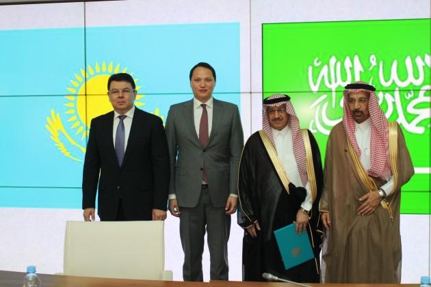 Саудовская Аравия поможет развить нефтехимическую отрасльРК