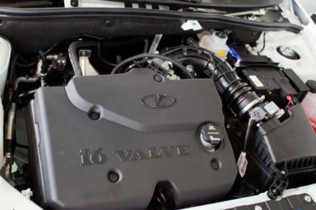 Новый двигатель для Lada