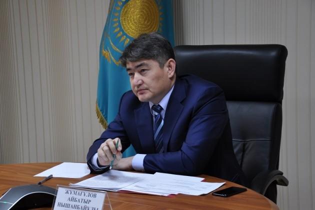 Айбатыр Жумагулов возглавил Фонд социального медстрахования