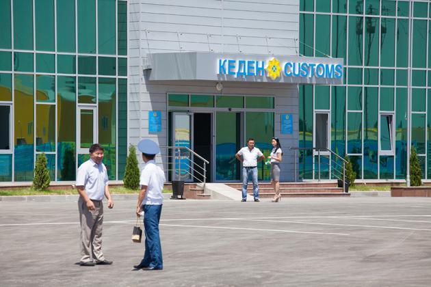 В Алматы открылся новый таможенный пост