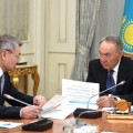 Даниал Ахметов отчитался в Акорде о результатах работы