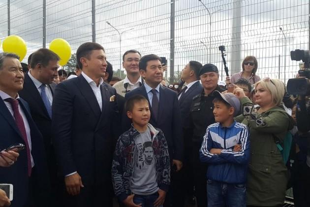 Геннадий Головкин открыл вКараганде спорткомплекс