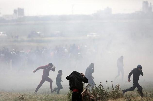 Число погибших всекторе Газа палестинцев выросло до59