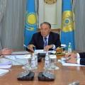 Нурсултан Назарбаев встретился с министром национальной экономики