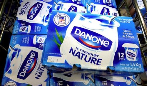 Прибыль компании Danone составила 911 млн. евро