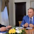 Нурсултан Назарбаев заслушал отчет Сергея Кулагина