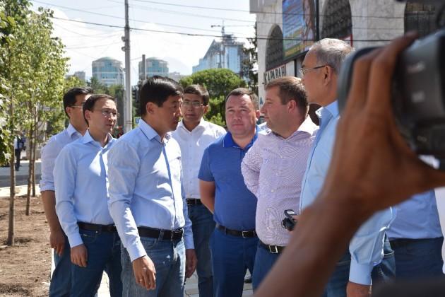Как проходит реконструкция улиц Алматы?