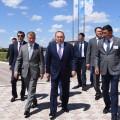 Президент проинспектировал предприятия ВКО