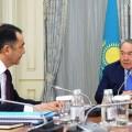 Президент заслушал отчет Бакытжана Сагинтаева