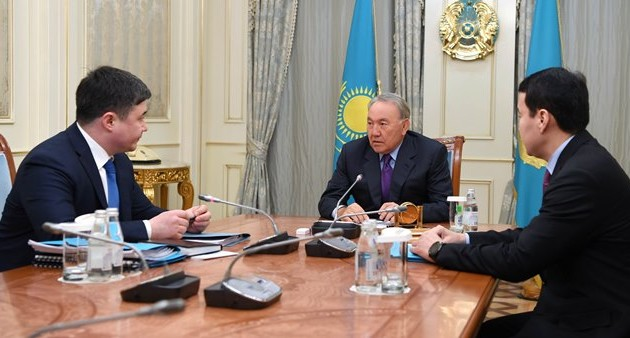 Тимур Сулейменов отчитался перед президентом