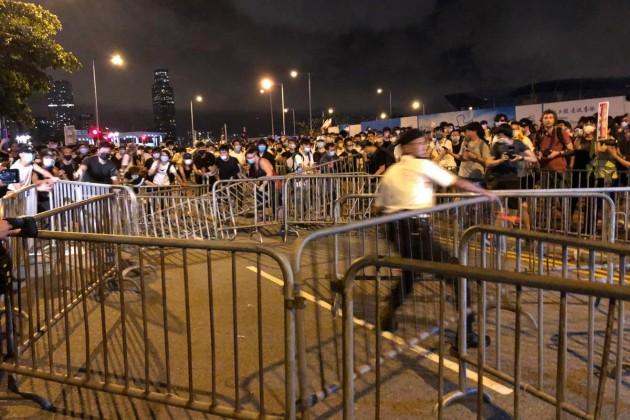 В Гонконге протестуют против закона об экстрадиции