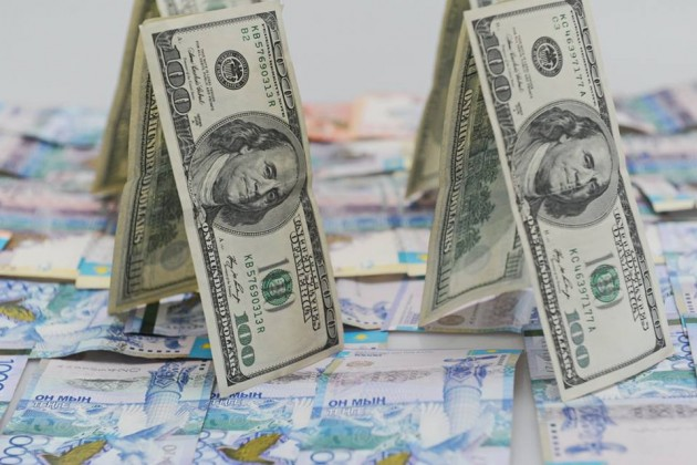Задень объем сделок свалютой наKASE составил $132,7млн