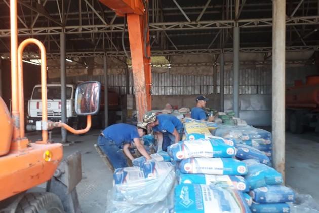 Строители из Алматы приступили к восстановлению объектов в Арысе