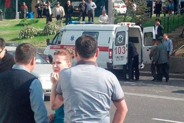 Именно Жамиля Серкебаева находилась за рулем во время ДТП