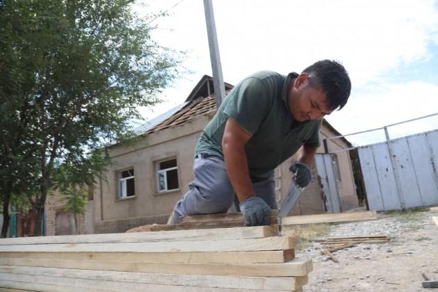 В городе Арыс отремонтирован 181 дом