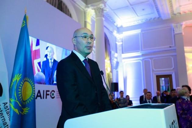 МФЦА презентовали бизнесменам Лондона