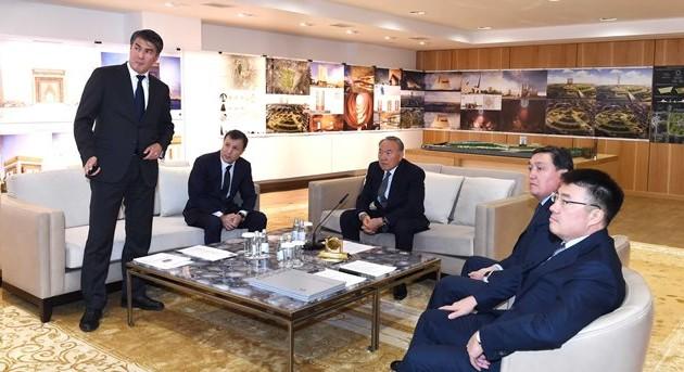 Президент посетил проектный институт «Астанагенплан»