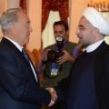 Назарбаев встретился с президентом Ирана