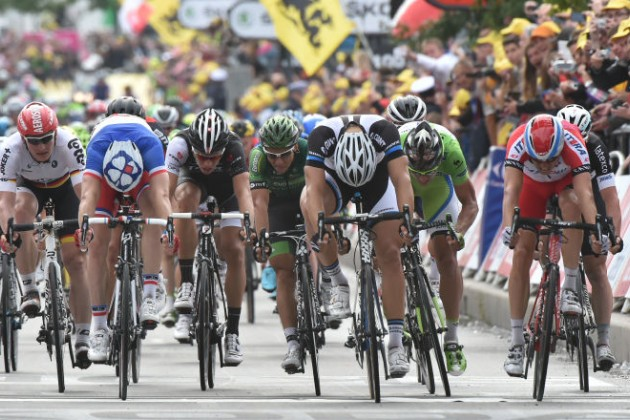 Состоялся 4-й этап «Тур де Франс»