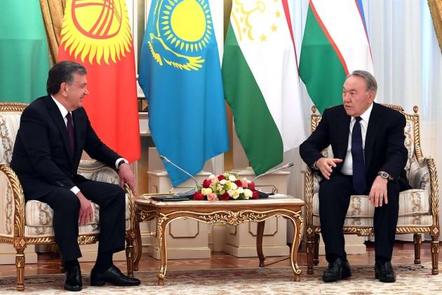 Нурсултан Назарбаев пожелал Президенту Узбекистана новых успехов