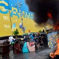В Киеве опять митингуют