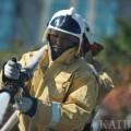 Сотрудники ДЧС потушили пожар в Алматы