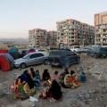 Награнице Ирана иИрака произошло мощное землетрясение