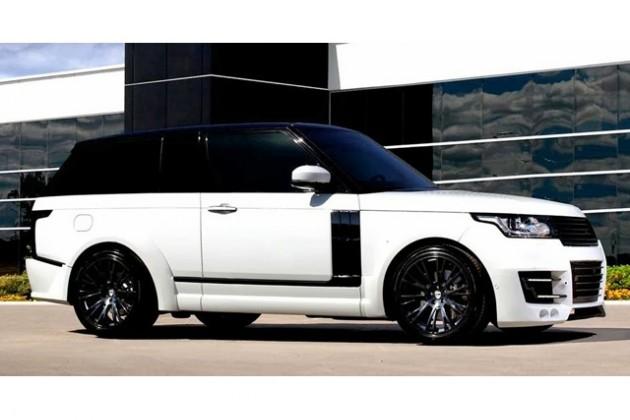 NCE превратила Range Rover в купе